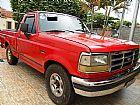Ford f1000 xlt mwm vermelha picape completa