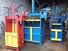 prensa enfardadeira para reciclagen de papel,   plastico,   latinha,   sucata,   aluminio,