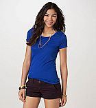 Camiseta American Eagle Womens AE Favorite TShirt Blue