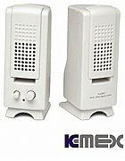 Caixa de som 300w pmpo branca mini speaker
