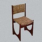Cadeira de jacaranda macico