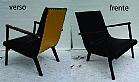 Poltrona design em madeira