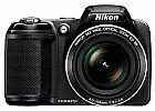Camera digital nikon l320 c/ 16.1 mp e zoom �ptico 26x,  no rio de janeiro.