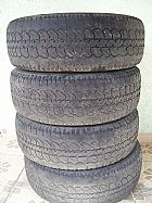 4 pneus usados. barato so 300,
