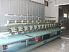 Maquina de bordar Tajima 12 cabecas e 6 agulhas