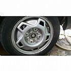 Jogo rodas kadett r13 original pneus semi novos