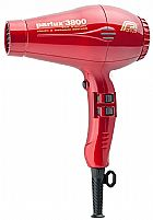 Secador parlux 3800 2000w preto e vermelho  bi volte