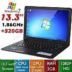 Notebook 13, 3  windows 7 intel 320gb