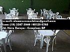 Locacao de mesas e cadeiras em Campinas