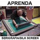 Aprenda Serigrafia E Silk Screen Em 3 Dvds - Completo