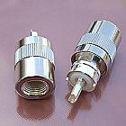 CABOS COAXIAIS RG 213   CONCECTORES UHF - MONTADO