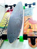 Skate longboard abec7 truck160 rodas 71mm 80a paintail