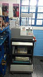 Maquina para teste e limpeza de injetores 4 bicos