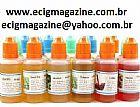 e-liquido e-liquid refil regarga oleo essencia para cigarro eletr�nico frasco co