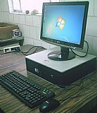 Computador hp 3.0 ghz lcd 17 dual core windows 7 entrego gde sp e osasco