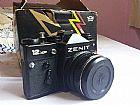 Camera Zenit 35mm com FLASH