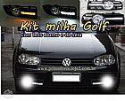 Kit neblina golf 1999 a 2006 farol de milha