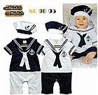 Conjunto marinheiro para bebe