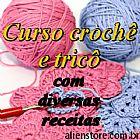 e-book Curso de croche e tricô