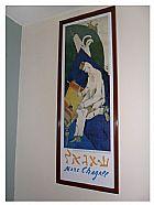 Quadro marc chagall gravura