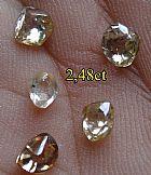 Diamantes brutos