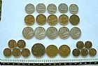 Lotek23 n28 moedas lire italia 5-10-20-50-100-200
