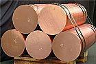 Tarugo de cobre fundido