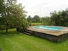 Mini sitio com piscina em agro-brasil itabora� caetano im�veis 3623-2297