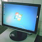 Monitor 17 polegadas widescreen samsung lcd com cabos em osasco ac. cartao cred.