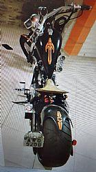 Moto chopper 600 cc