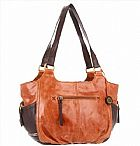 BOLSA THE SAK KENDRA SATCHEL, BROWN SNAKE MULTI, ONE SIZE