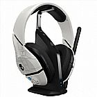Acess�rio skullcandy plyr1 7.1 surround sound wireless gaming headset,  white