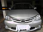 Toyota etios ano 14/15 prata xls 1.5 completo com bancos de couro