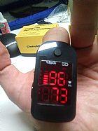 Oximetro de dedo, pulso, digital