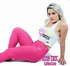 Moda Fitness - Regatas,  Calcas e Shorts  - Rosa Choc Collection