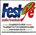 Sandalias e Chinelos personalizados - Fest pe