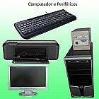 Computador Completo com Impressora Nova