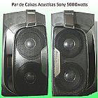 Par de Caixas Acusticas Sony 5000Watts