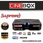 Receptor cinebox supremo modelo Hd