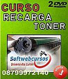 CURSO DE RECARGA TONER EM 02 DVD�S