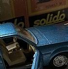 miniatura do carro Renault 30 TS azul novo