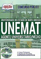 Apostila - AGENTE UNIVERSIT�RIO / M�DIO - UNEMAT
