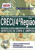 Apostila - SERVI�OS DE COPA E LIMPEZA - CRECI - 4� Regiao