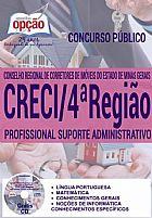 Apostila profissional suporte administrativo - creci - 4ª regiao
