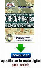 Apostila - SERVI�OS DE COPA E LIMPEZA - CRECI - 4� Regiao-digital