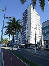 Apartamento frente ao mar em Praia Grande,   vista do mar e