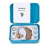 aparelho auditivo mini digital jecpp model. f-188 com 3 bate