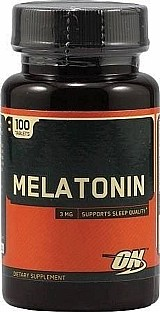 Melatonin 3mg 100tabls Optimum Nutrition