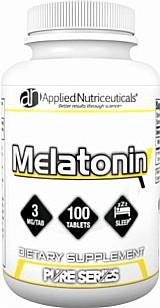 Melatonin 3mg 100tabls Applied Nutriceuticals