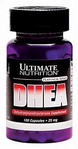 DHEA 25mg 100mg Ultimate Nutrition Platinum Series